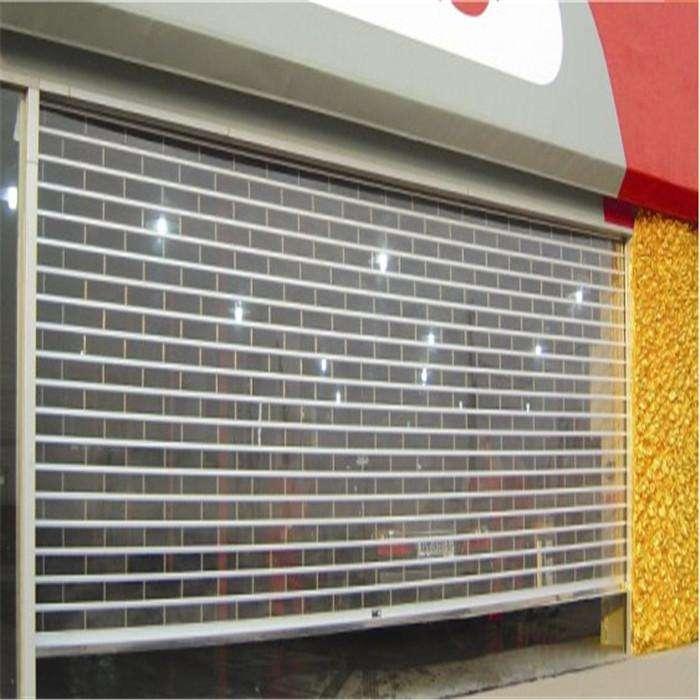 天津水晶卷帘门安装价格配套图片