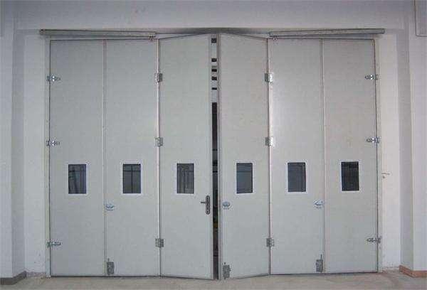 天津电动折叠门 天津工业折叠门厂家配套图片