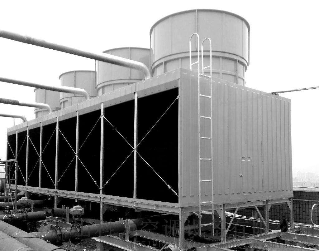 供应山东金光超低噪玻璃钢冷却塔产品图片高清大图,本图片由山东金光集团有限公司提供。