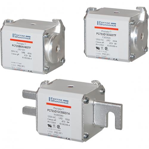 Ferraz原装熔断器J302665-D70GB60V100ESF产品图片高清大图,本图片由深圳市赛晶科技有限公司提供。