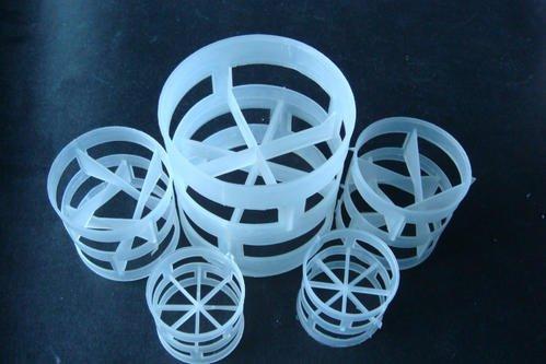 塑料鲍尔环填料PP聚丙烯材质  耐腐蚀耐高温
