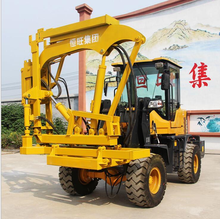 装载式打桩机 打拔钻多功能一体机 高速公路打桩机产品图片高清大图,本图片由济宁川海机械设备有限公司提供。