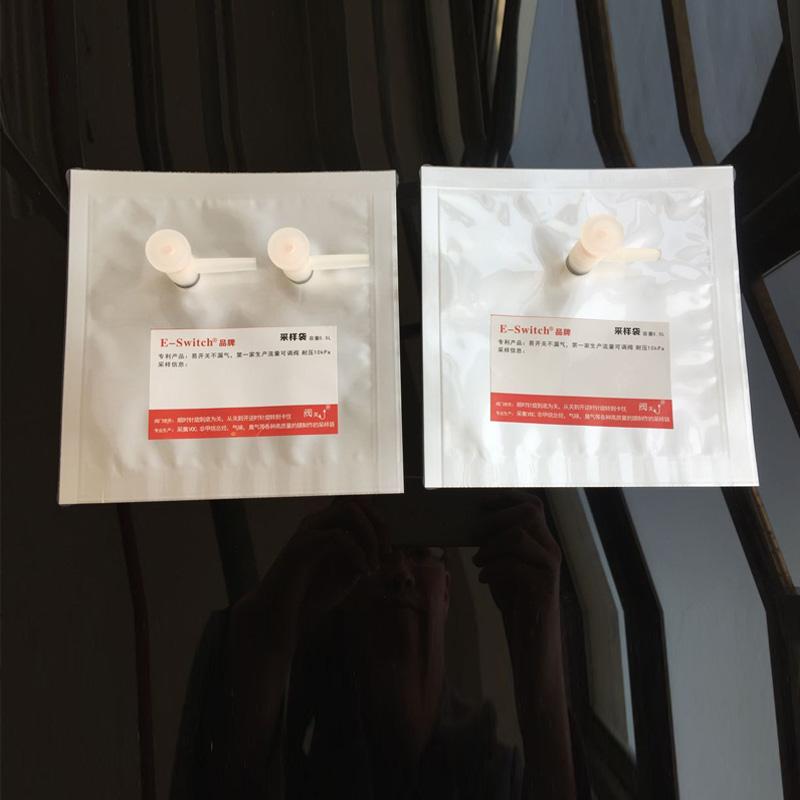 铝箔复合膜气体采样袋 锡塑样品袋实验袋产品图片高清大图,本图片由上海申源科学仪器有限公司提供。