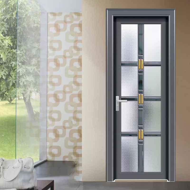 厂家定制工程卫生间门价格图片 公寓铝合金厕所门隔音学校厕所门