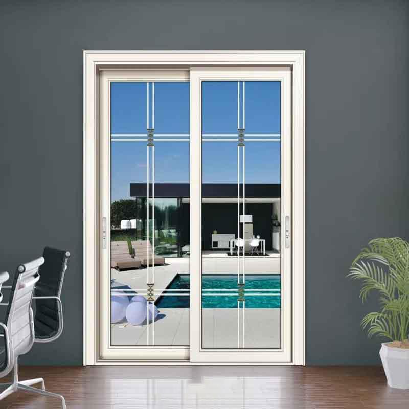 厂家定制工程公寓钛镁铝合金推拉移门 客厅吊趟门厨房玻璃移门