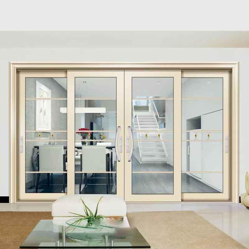 厂家定制厨房推拉门阳台客厅玻璃移门 家装卫生间门厨卫门玻璃门