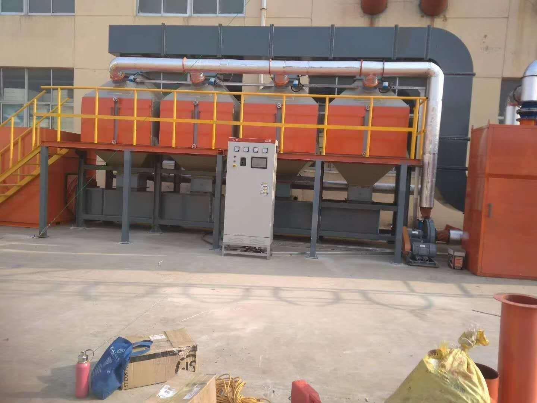吉光环保催化燃烧设备厂家生产产品图片高清大图,本图片由泊头市吉光环保设备有限公司提供。