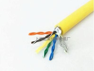 4*2*23/24/26AWG双绞屏蔽网超五类水下网线