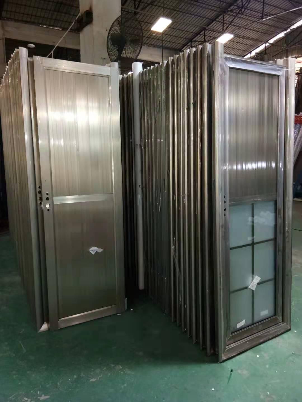 佛山厂家供应工程门卫生间门价格,隔音防潮钢化玻璃门,铝合金简约厕所卫浴门