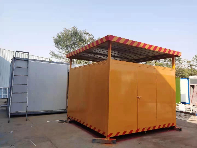 快易居氧气乙炔房产品图片高清大图,本图片由河南快易居钢结构工程有限公司提供。