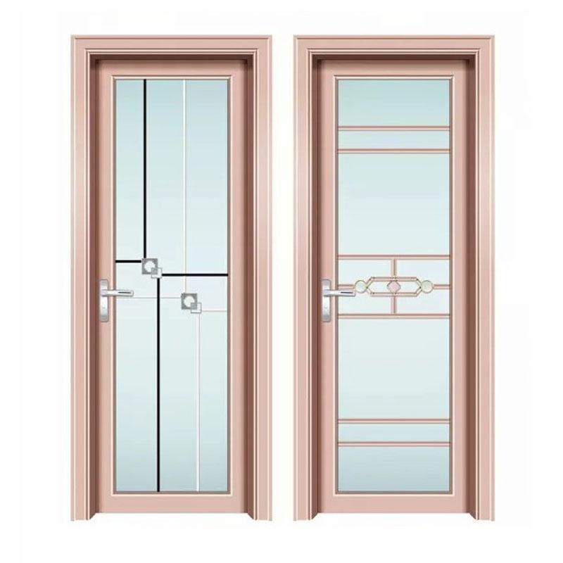 厂家定制铝合金卫生间门,隔音隔断厕所门,洗手间门冲凉房厕所门
