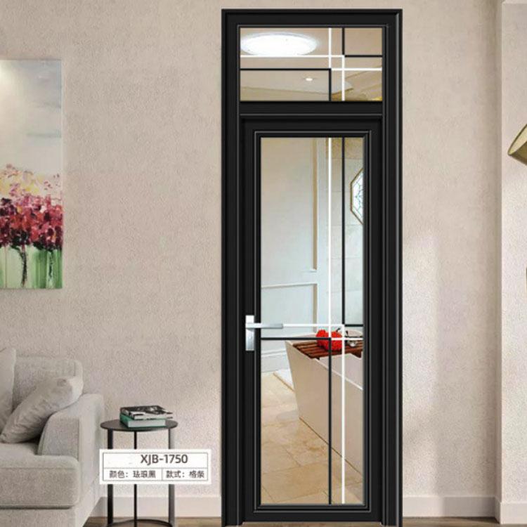 厂家现货工程卫生间门报价 铝合金厕所门客厅玻璃门卧室浴室门